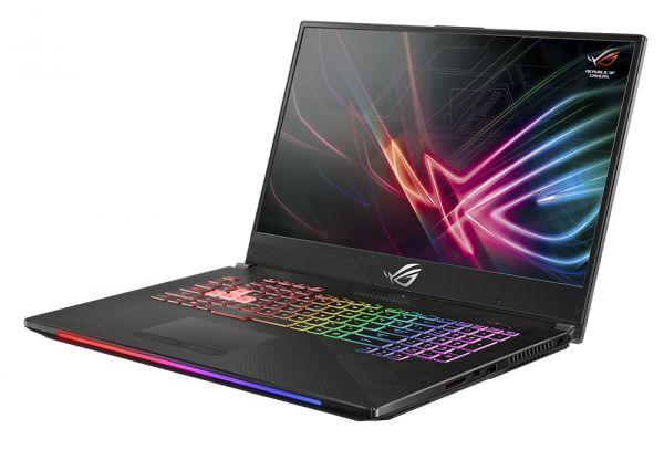 """Herní notebook ROG Scar II GL704GW má 17"""" obrazovku a agresivní design"""