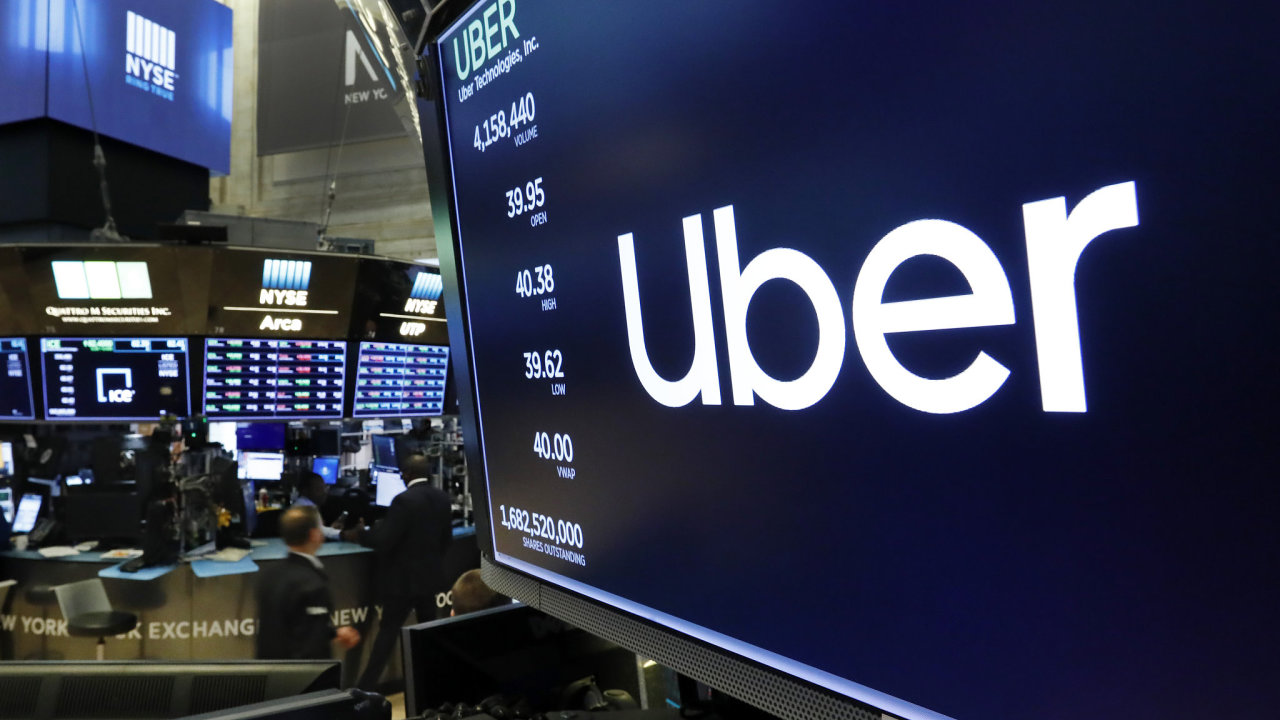 S akciemi Uberu se 10. května začalo obchodovat na newyorské burze.