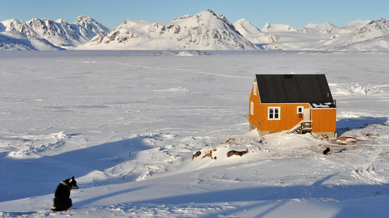 V Grónsku, na největším ostrově světa, žije jen 56 000 lidí.