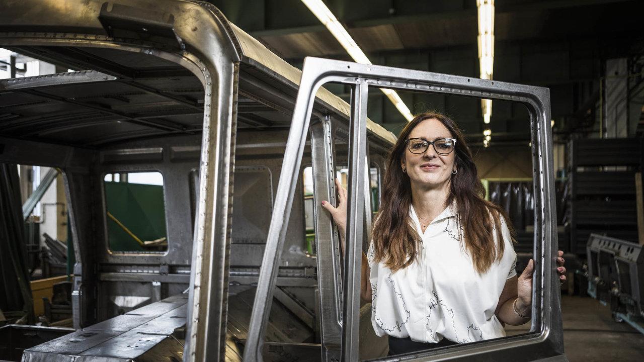 Včele firmy: Poškole pracovala Margita Rejchrtová naobchodních pozicích několika průmyslových podniků. Odroku 2004 působí vefirmě Tawesco.