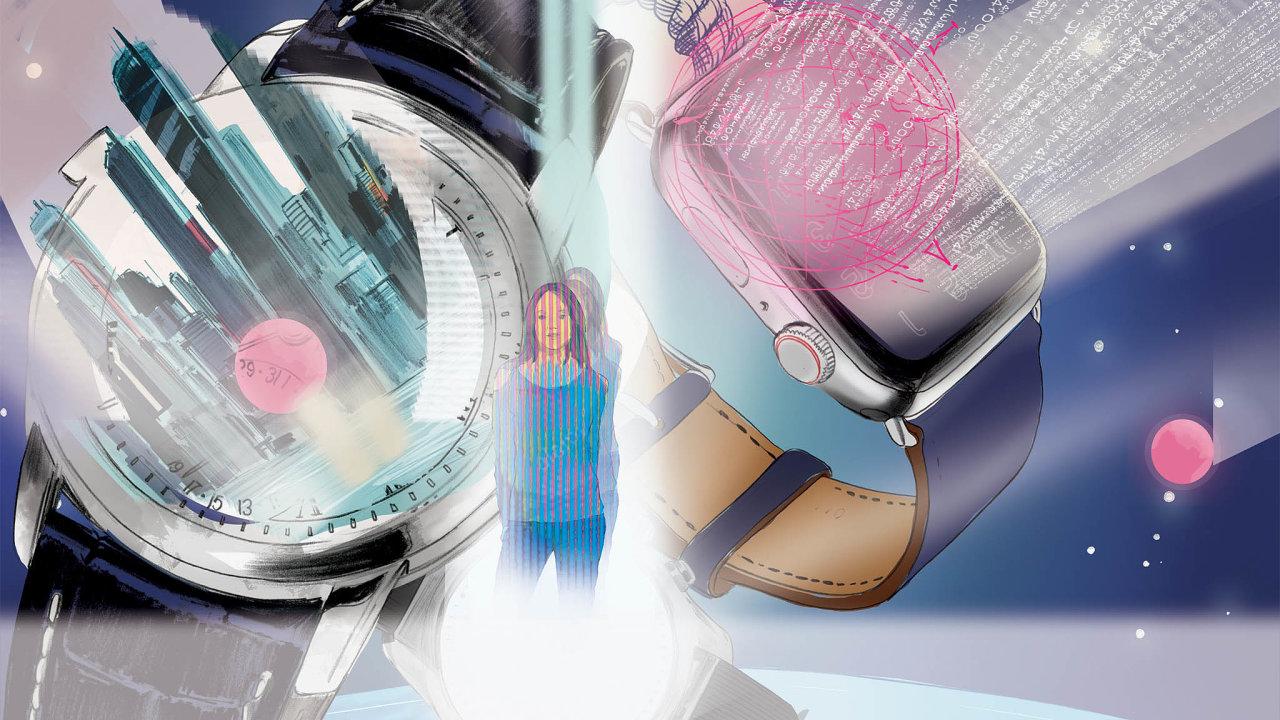 Svět luxusních hodinek neodolal vábení moderních technologií.