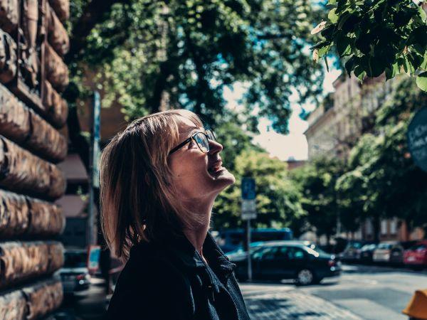 Spisovatelka a básnířka Klára Notaro