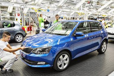 Část výroby modelu Fabia by se mohla kvůli nákladům přesunout.