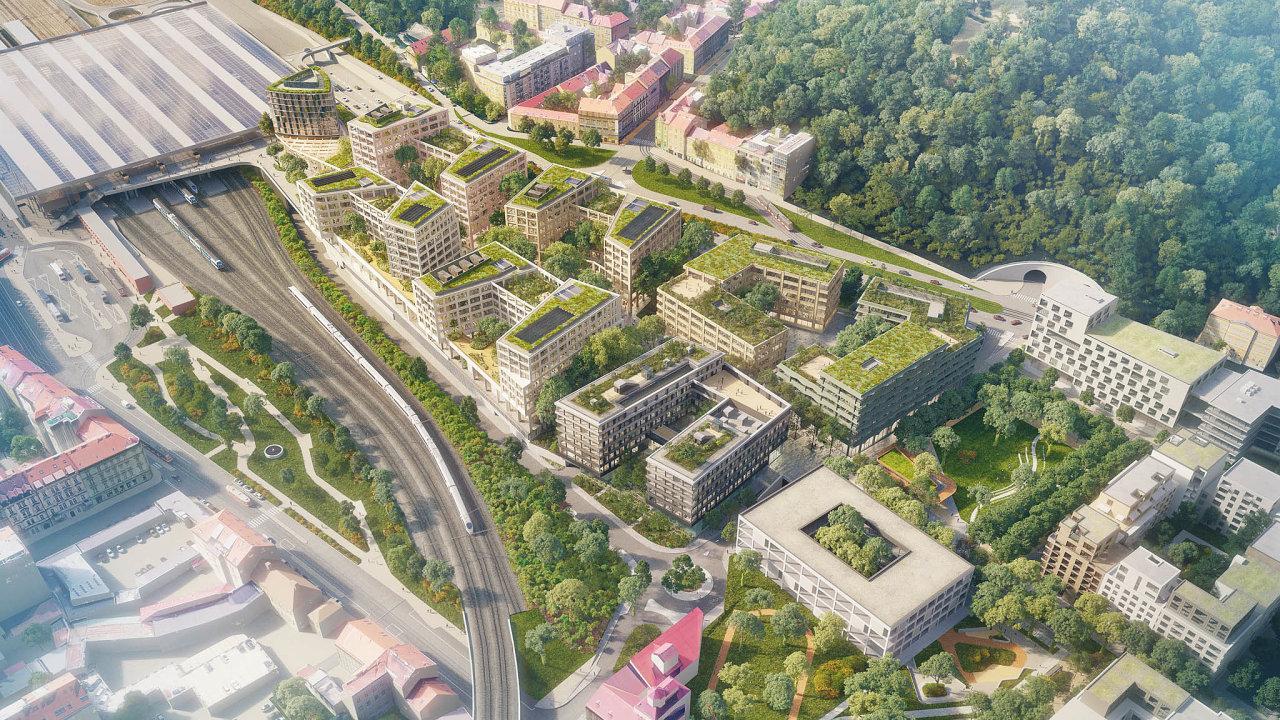 Za20 miliard korun postaví Luděk Sekyra naSmíchově stovky bytů, kanceláře, parky, nové ulice ataké 28 metrů široký bulvár. Přestavba bývalého nákladového nádraží naSmíchově zabere minimálně 12 let.
