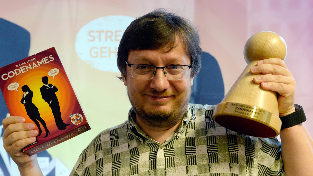 Hra Krycí jména českého vývojáře Vladimíra Chvátila je na šesté pozici respektovaného světového hráčského žebříčku.