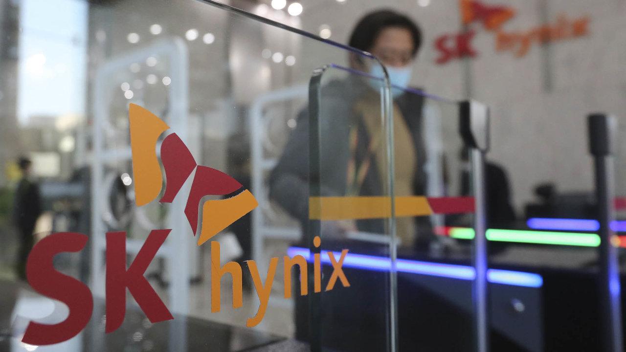 Kanceláře SK Hynix veměstě Songnam.