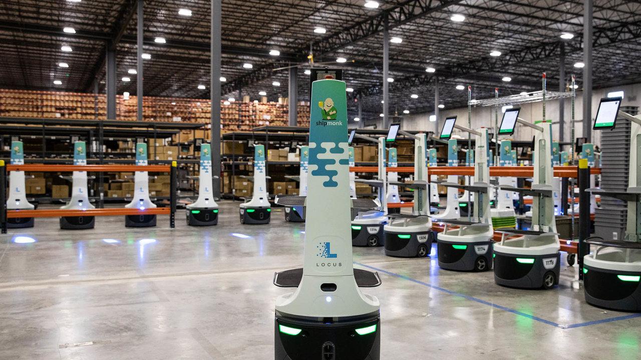 Jeden zvítězů pandemie: Firma ShipMonk se věnuje skladování, expedování adoručování zboží zákazníkům.