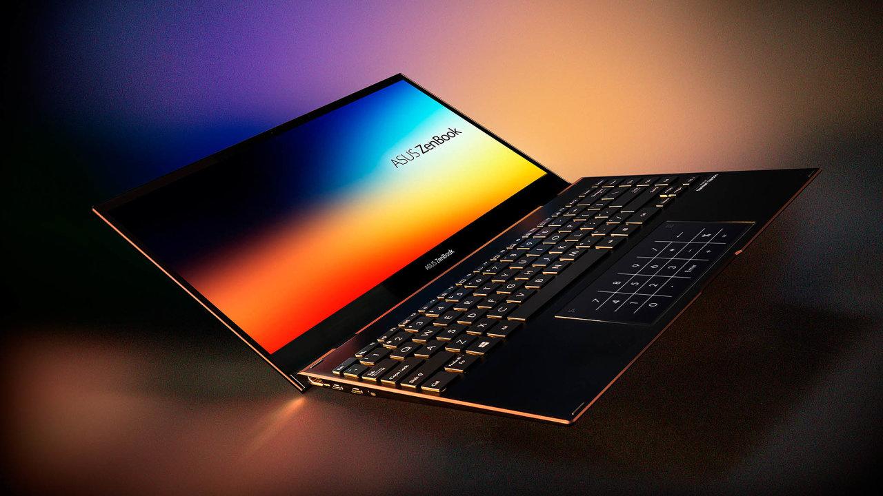 Asus Zenbook Flip Sje notebook, který se pootočení displeje o360° promění vtablet. Pro toto použití je vybaven dotykovou obrazovkou adigitálním perem.