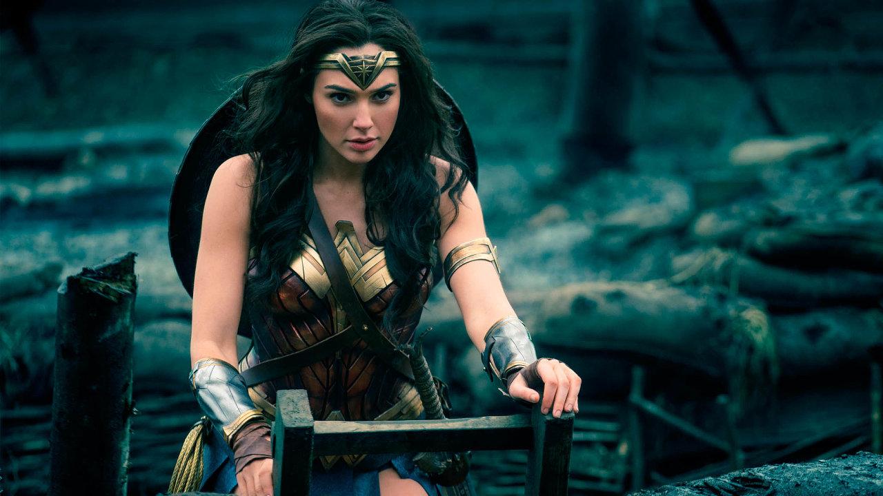 Záběr ze snímku Wonder Woman