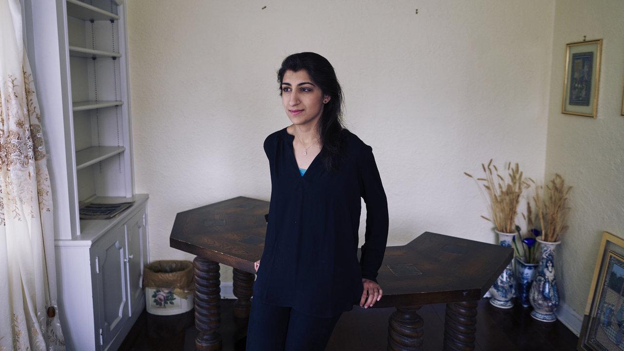 Lina Khan, právnička