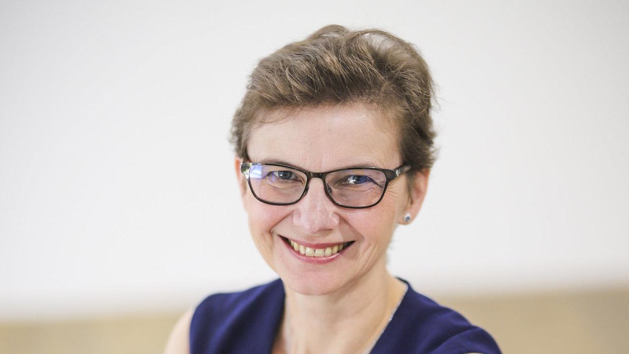 Barbara Řimánková, generální ředitelka ČSOB Factoring.
