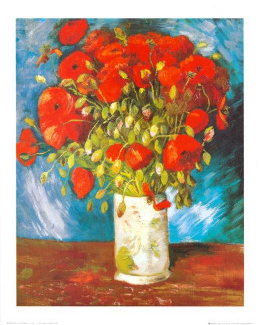 Vincent van Gogh - Vlčí máky