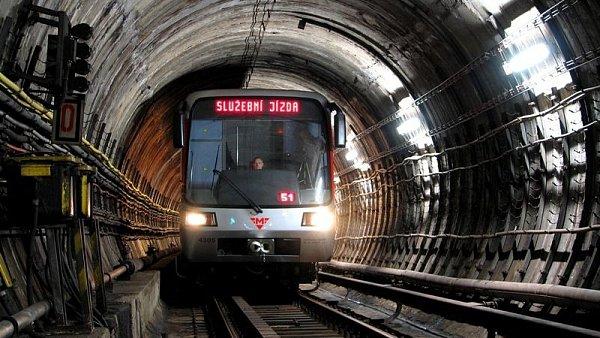 Nové vozy metra od firmy Siemens.