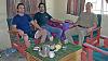 Zleva: Ji�� Cetel, Jan Coufal a Michal Vebr