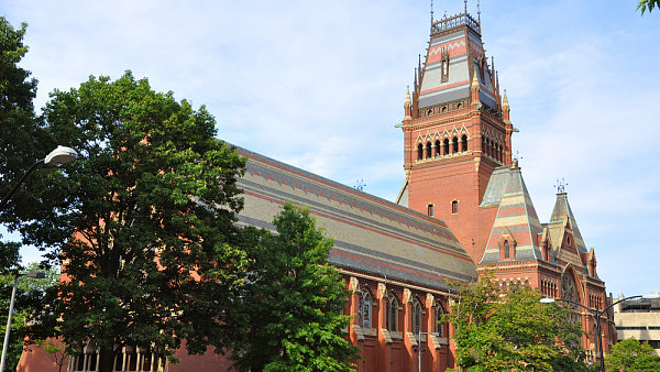 Harvardova univerzita - Ilustrační foto.