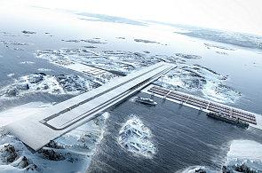 Unikátní dopravní uzel Air+Port má v Grónsku spojit mezinárodní letiště s přístavem