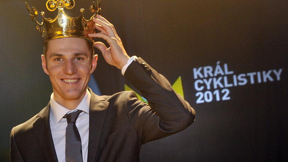 Jaroslav Kulhavý, vítěz ankety Král cyklistiky 2012