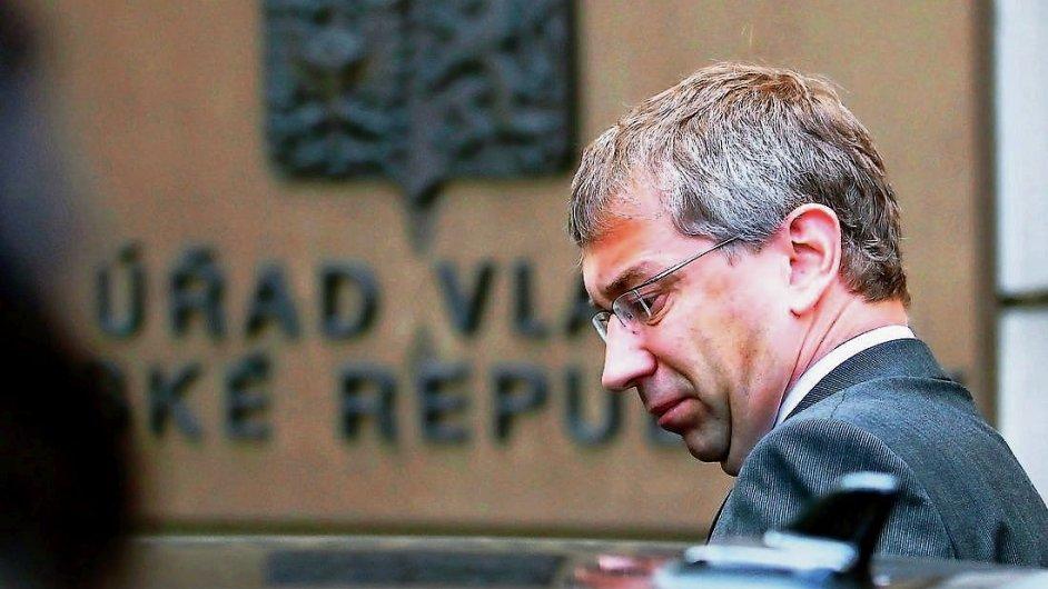 Viník? Exministr práce Jaromír Drábek (TOP 09)