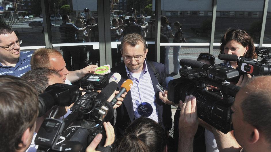 Advokát Jiří Matzner, obhájce Milana Kovandy