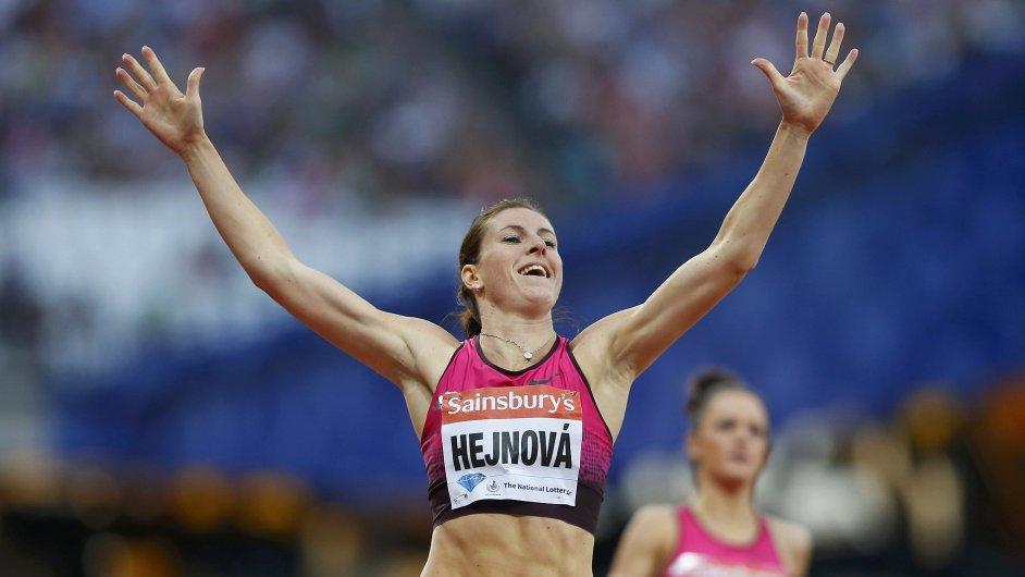 Vítězná Zuzana Hejnová na Diamantové lize v Londýně