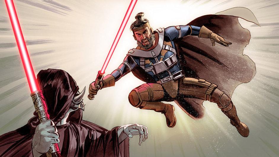 Komiks The Star Wars podle původního scénáře George Lucase