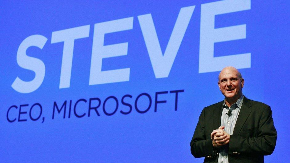 Steve Ballmer sice skončil v čele Microsoftu, ale elán ani energie mu nechybí.