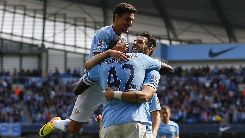 Fotbalisté Manchesteru City