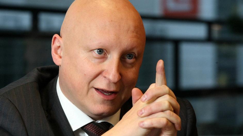 Generální ředitel skupiny ČEZ Daniel Beneš.