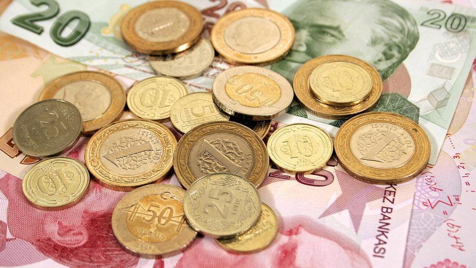 Turecká lira po zvýšení úrokových repo sazeb posílila.