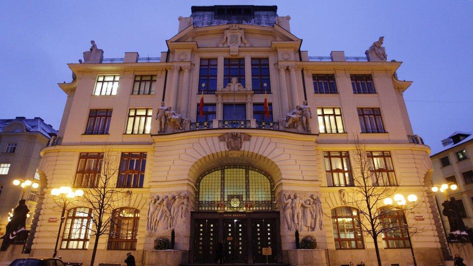 Budova pražského magistrátu na Mariánském náměstí