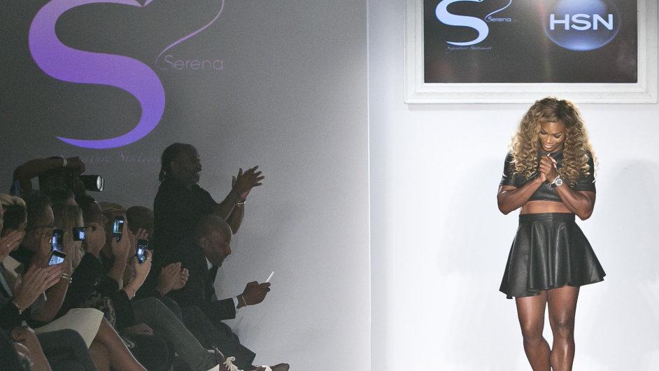 Kolekce Sereny Williamsové na Fashion Weeku v New Yorku