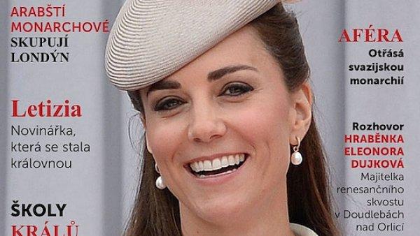 Nový Dotyk s vévodkyní Kate na obálce