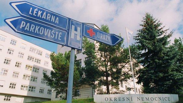 Nemocnice v Havlíčkově Brodě. Archivní foto