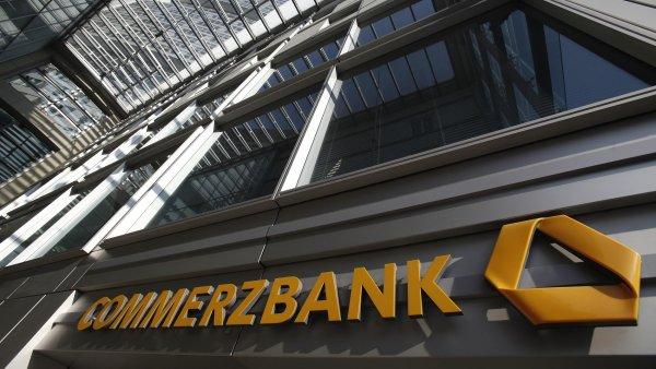 Německá Commerzbank se ve čtvrtletí vrátila k zisku - Ilustrační foto.