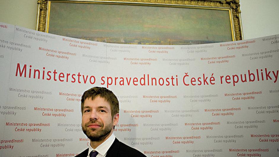 Ministr spravedlnosti Robert Pelikán představil nový zákon o státním zastupitelství (ilustrační foto).
