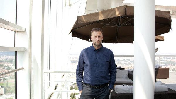 Milan Fischer, šéf tradingu Raiffeisenbank