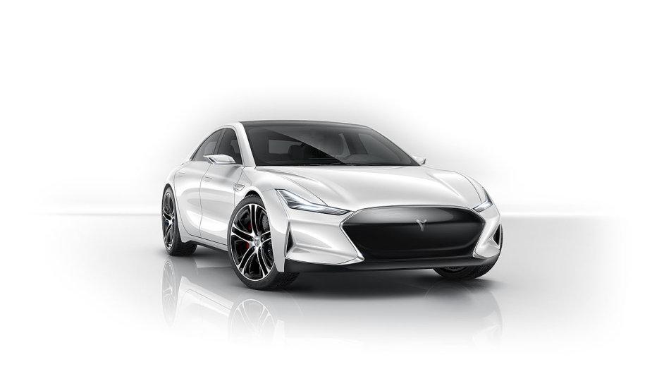 Čínská kopie elektromobilu Tesly Youxia X zatím na trh nemíří.