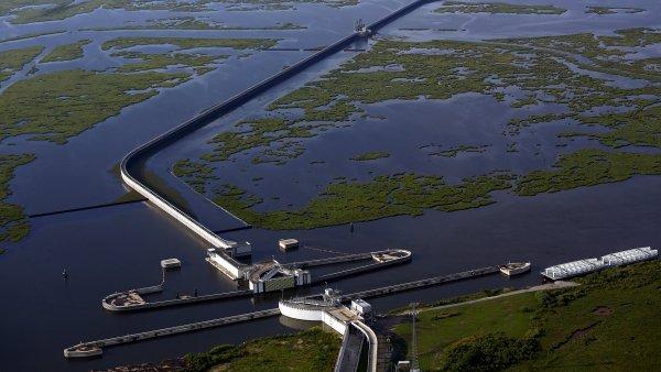 Velká zeď Louisiany má příště ochránit město New Orleans.