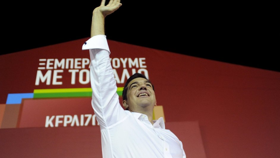 Vůdce vítězné Syrizy Alexis Tsipras se pravděpodobně stane staronovým řeckým premiérem.