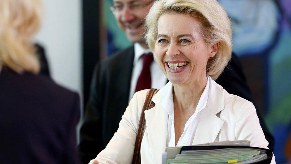 Německá ministryně obrany Ursula von der Leyenová.