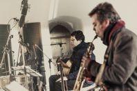Na snímku David Dorůžka trio & Tiburtina