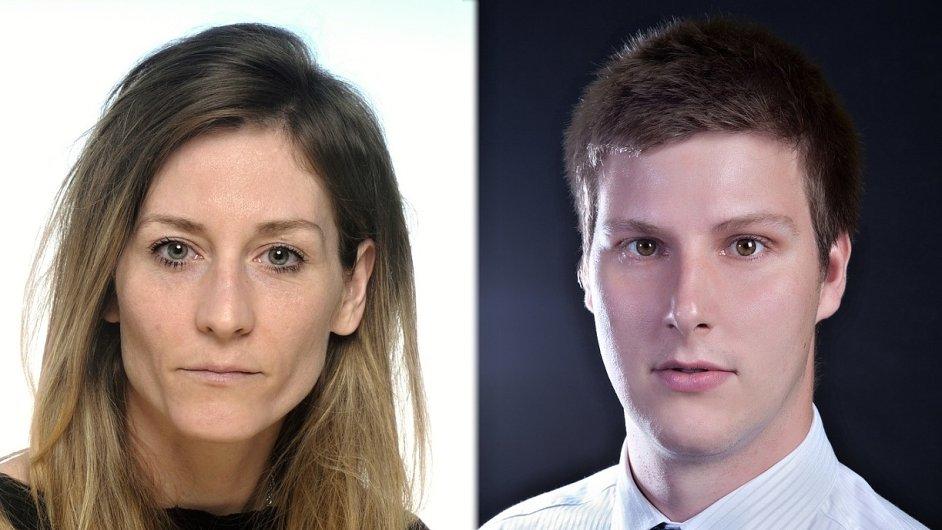 Kateřina Tkadlecová a Ondřej Kolínek, agentura Grafton Recruitment