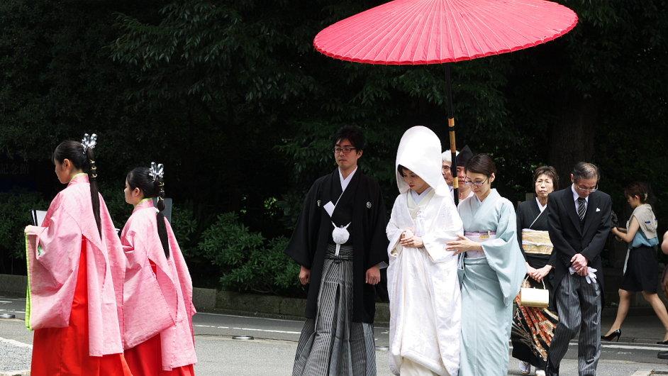 Japonsko plánuje zmírnit lhůtu, po které se ženy mohou znovu vdát - Ilustrační foto.