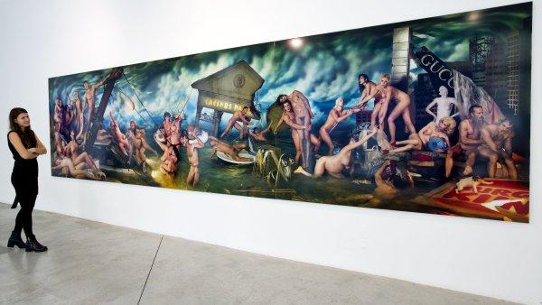 Snímek z výstavy Davida LaChapella