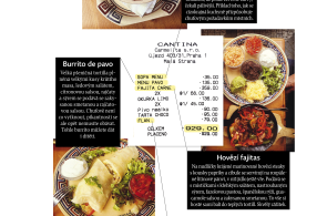 Moje ��tenka: Mexick� restaurace Cantina v�s zavede do hlubin st�edoamerick� divo�iny