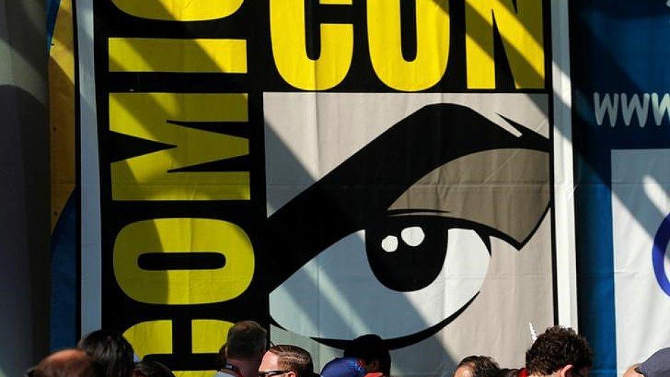 Snímek ze zahajovacího dne Comic-Conu v kalifornském San Diegu.
