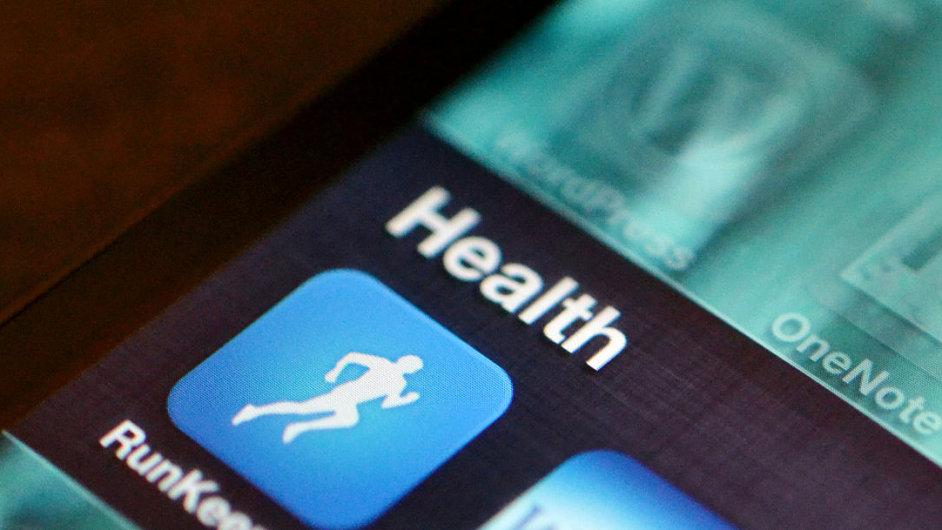 Aplikaci na sledování zdravotního stavu má dnes skoro každý chytrý telefon - Ilustrační foto.