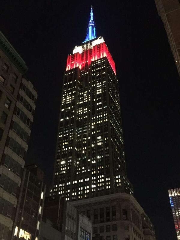 USA, volby, prezident, New York