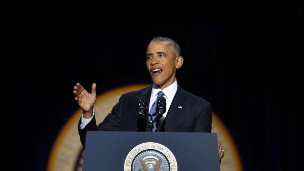 Obama se rozhodl pomyslnou tečku za osmi lety svého prezidentského mandátu učinit v domovském Chicagu, kde v roce 2008 pronesl vítězný projev po vyhraných prezidentských volbách.