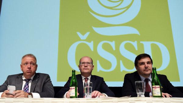 Sociální demokraté loni dostali od státu 128,7 milionu korun - Ilustrační foto.